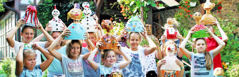 KERAMICKÝ SVET 2020 – denný tvorivý tábor pre deti 17.-21. august