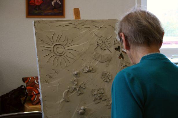 Graffiti clay pre seniorov 2013