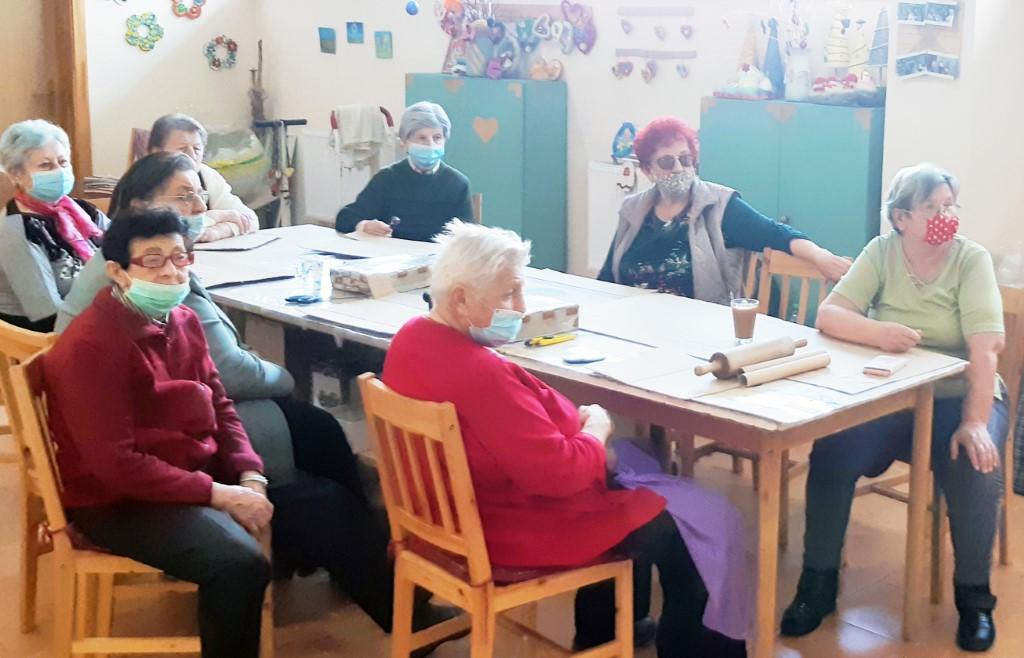 Prvé online tvorivé stretnutie so seniormi
